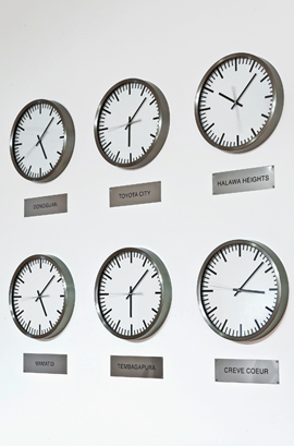 Clocks that do not tell the time